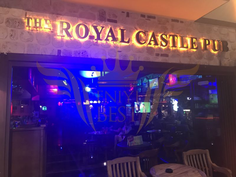 İç Mekan, The Royal Castle Pub - Manavgat, Antalya
